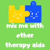 mix me with other therapy aids badge
