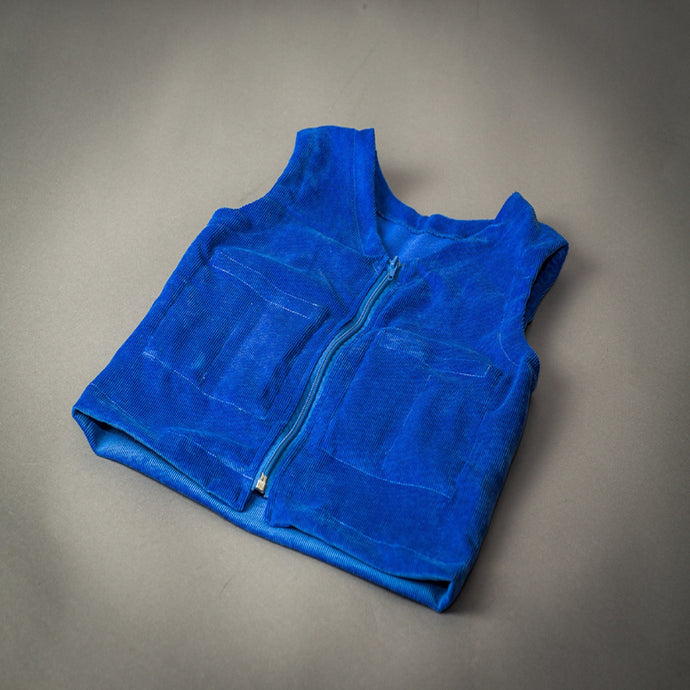 blue weighted therapy vest Sensory Owl