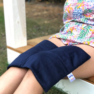 cotton weighted lap pillow