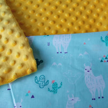 Load image into Gallery viewer, LLAMAS MINKY WEIGHTED BLANKET | SENSORY OWL