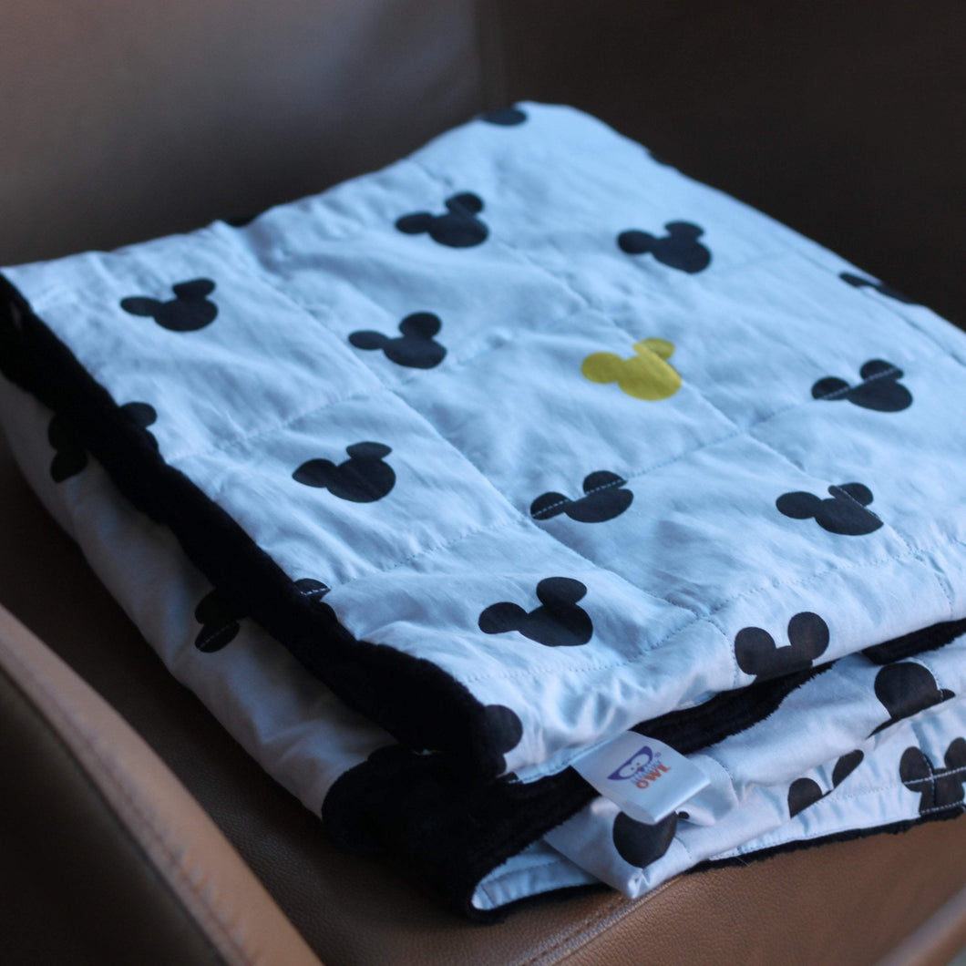 MICKEY MINKY WEIGHTED BLANKET
