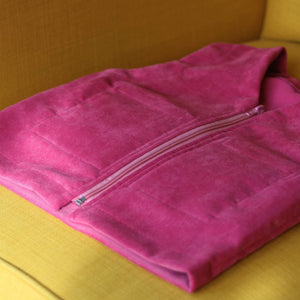 pink weighted therapy vest