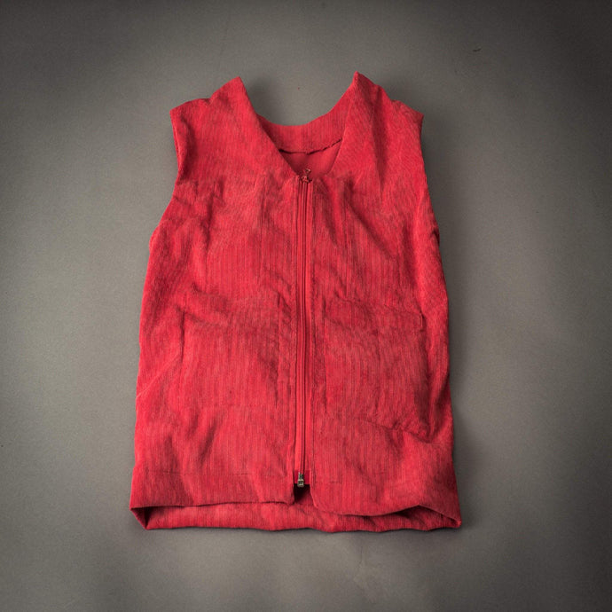 red weighted therapy vest