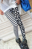 High Waisted Split Design Leggings