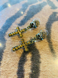 Skull & Cross Stud Earrings