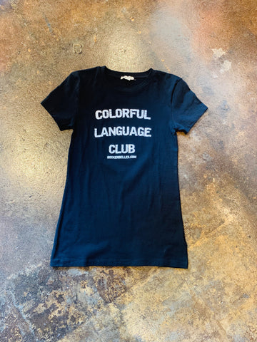 Colorful Language Club Top