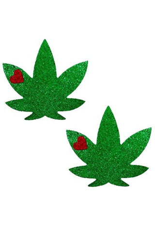 Weed Leaf Crystal Pasties