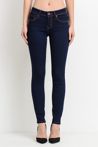 Booty Lifting Dark Wash Skinny Jeans