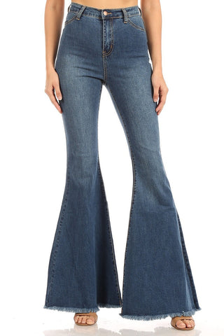 High Waisted Super Bell Bottoms