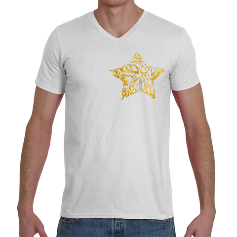 The Darkness T-Shirt (Gold on White)