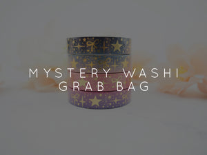 MYSTERY WASHI GRAB BAGS - Various Size Washi Tapes