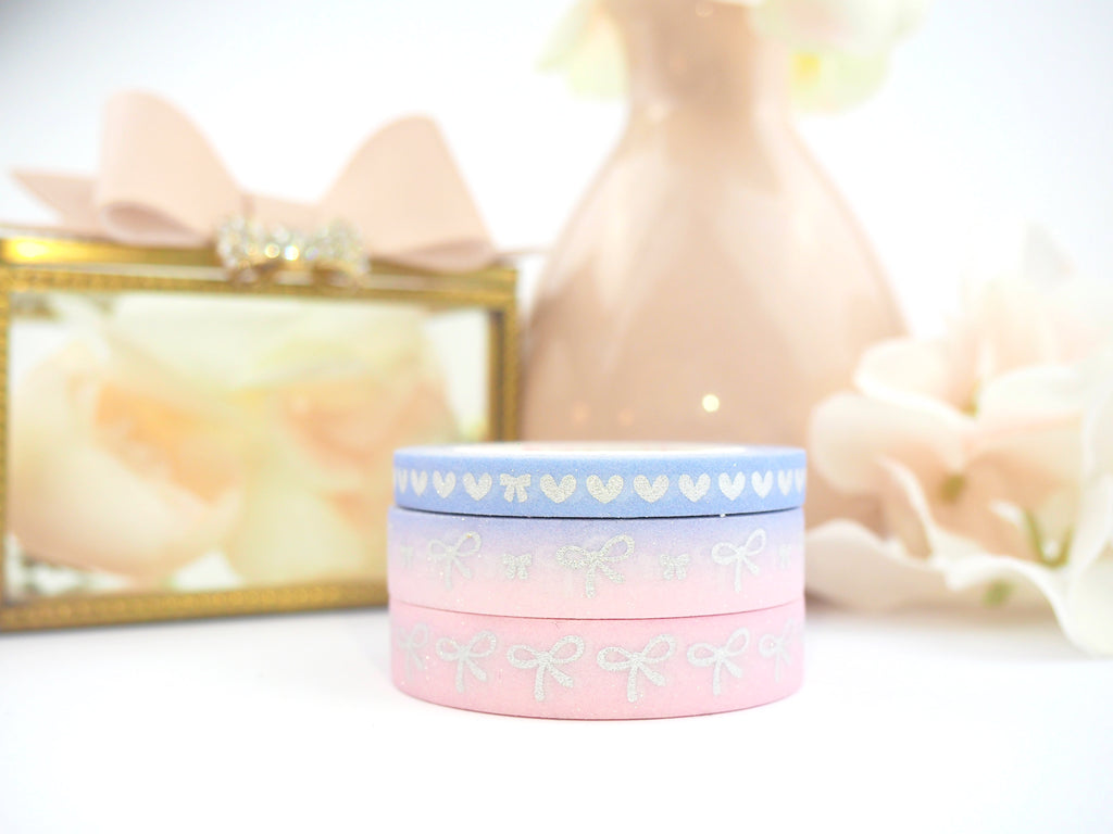 PINK SKY - Glitter Washi Collection - The Pink Room Co Exclusive Original