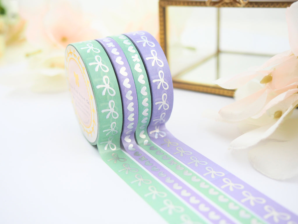 PROVENCE Bow and Heart Washi Collection