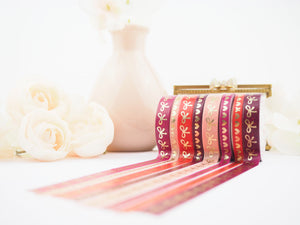 Sugar and Spice  Bow and Heart Washi Collection - The Pink Room Co Exclusive Original