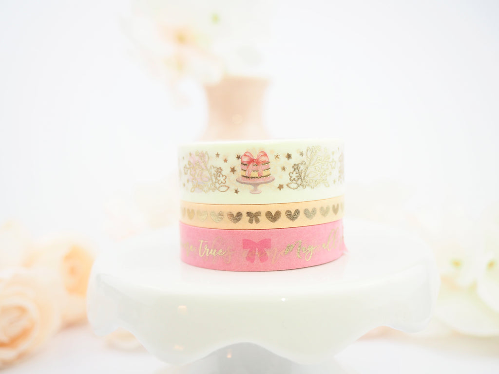 Birthday Wishes in Strawberry lemon - The Pink Room Co Exclusive Original