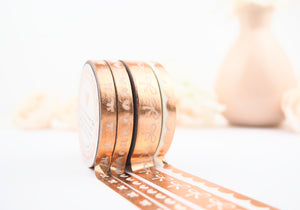 LOVE ALWAYS Washi Collection in ROSE GOLD (Limited Edition) - The Pink Room Co Exclusive Original
