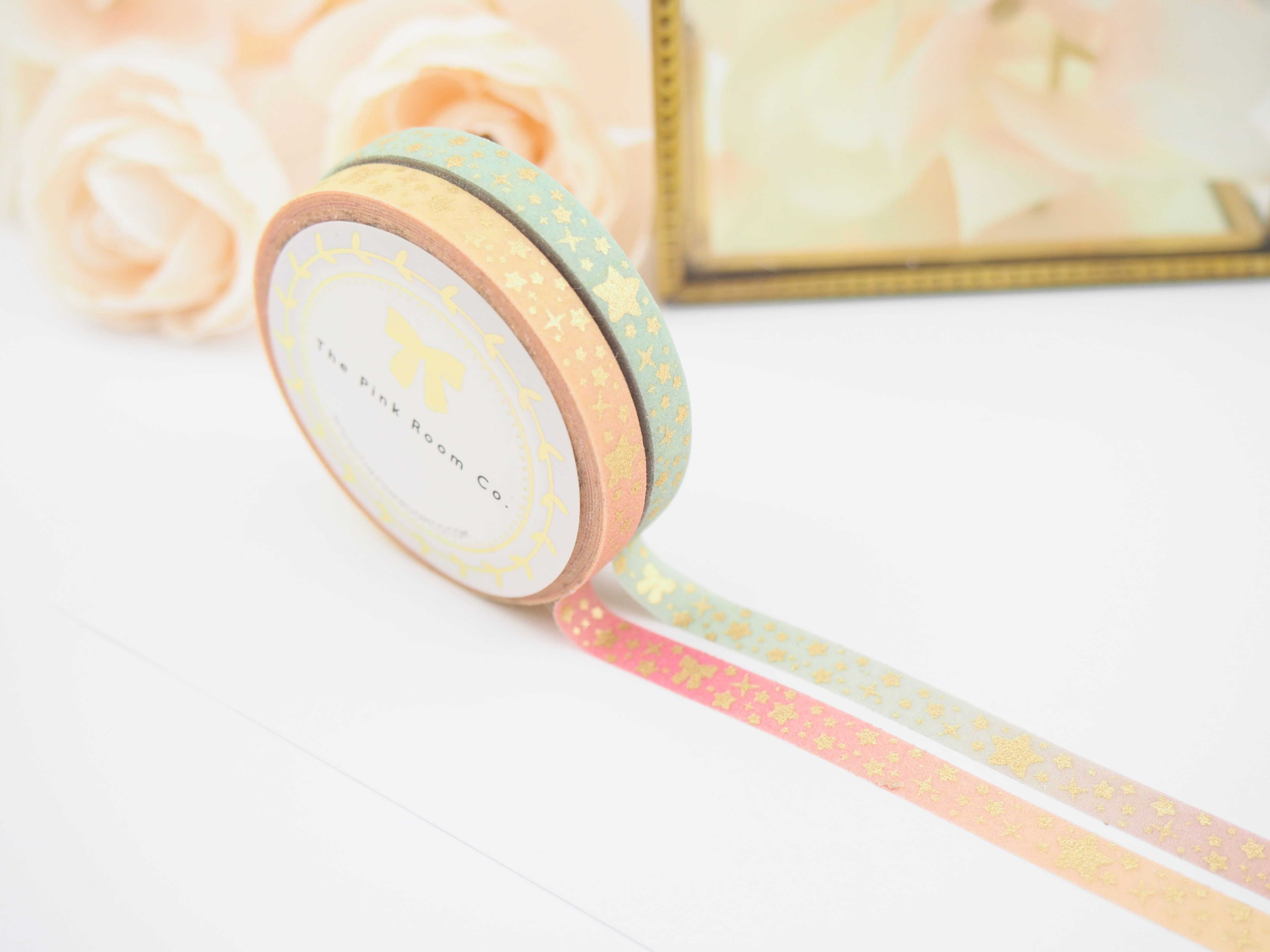 Spring Twinkle Glitter Washi Collection  - The Pink Room Co Exclusive Original