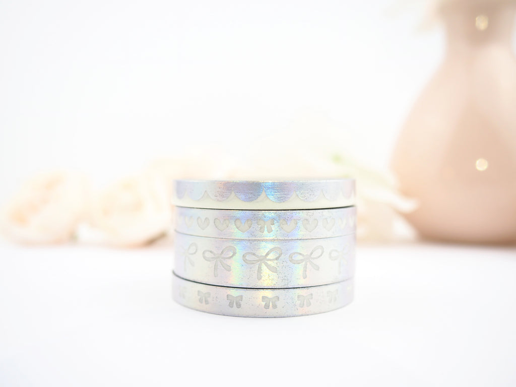 LOVE ALWAYS Washi Collection in Holo (Limited Edition) - The Pink Room Co Exclusive Original