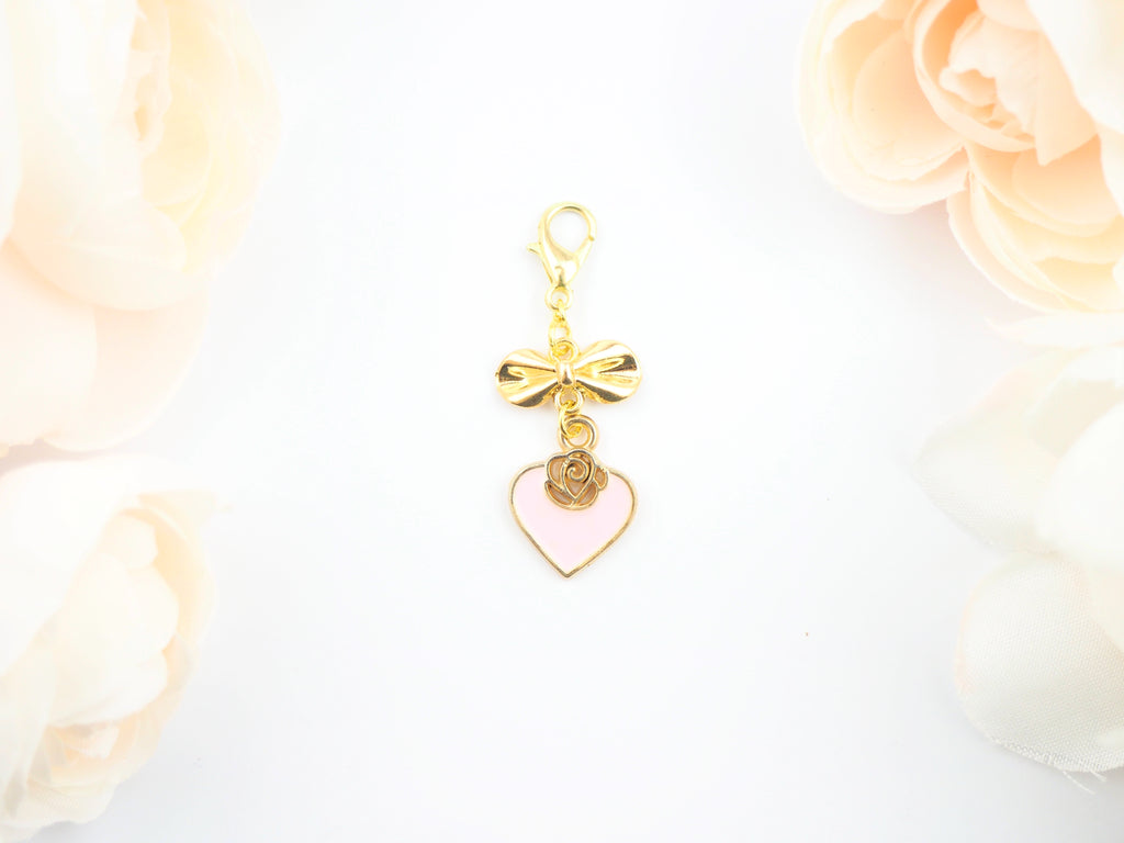 Rose in my heart Pendent Planner Charm