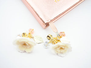 BLUSH Felt Flower Planner Charms