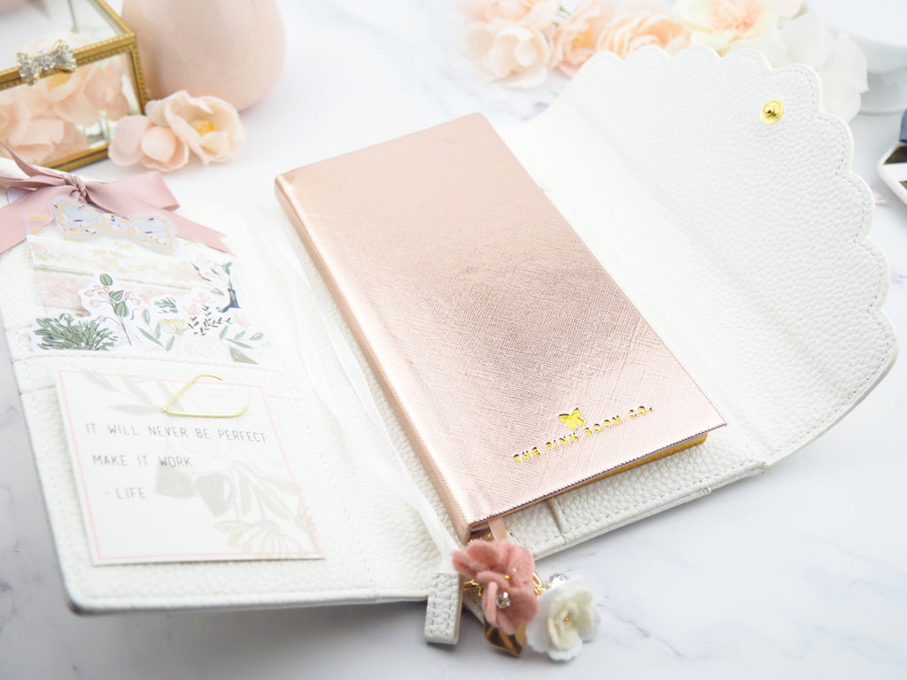 Pinkinichi Undated Weekly Hardcover Planner -  The Pink Room Co Exclusive Original