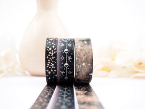 STARBUSRT in BLACK Washi Collection - The Pink Room Co Exclusive Original