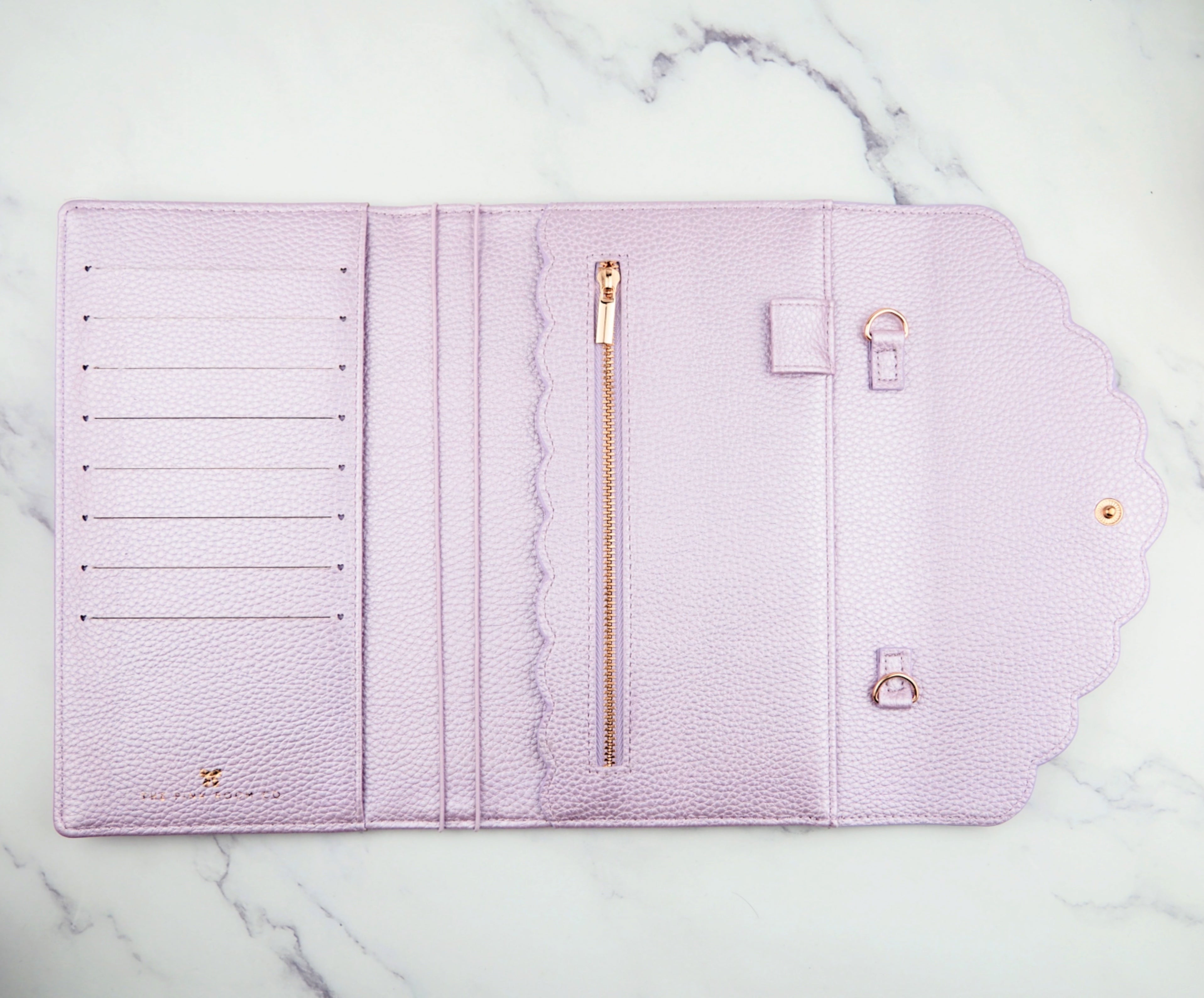 """Olivia"" Planner Cover, Wallet and Purse -  The Pink Room Co Exclusive Original"