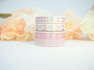 Musicbox 2.0 - in PINK HOLO Washi Collection - The Pink Room Co Exclusive Original