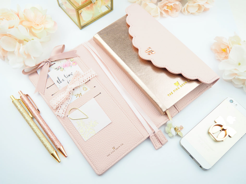 Amelia 2.0 Planner Cover & Wallet -  The Pink Room Co Exclusive Original
