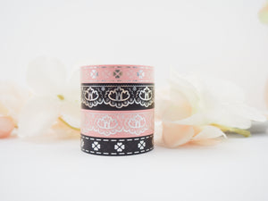 PARASOL in Silver Washi Collection - The Pink Room Co Exclusive Original