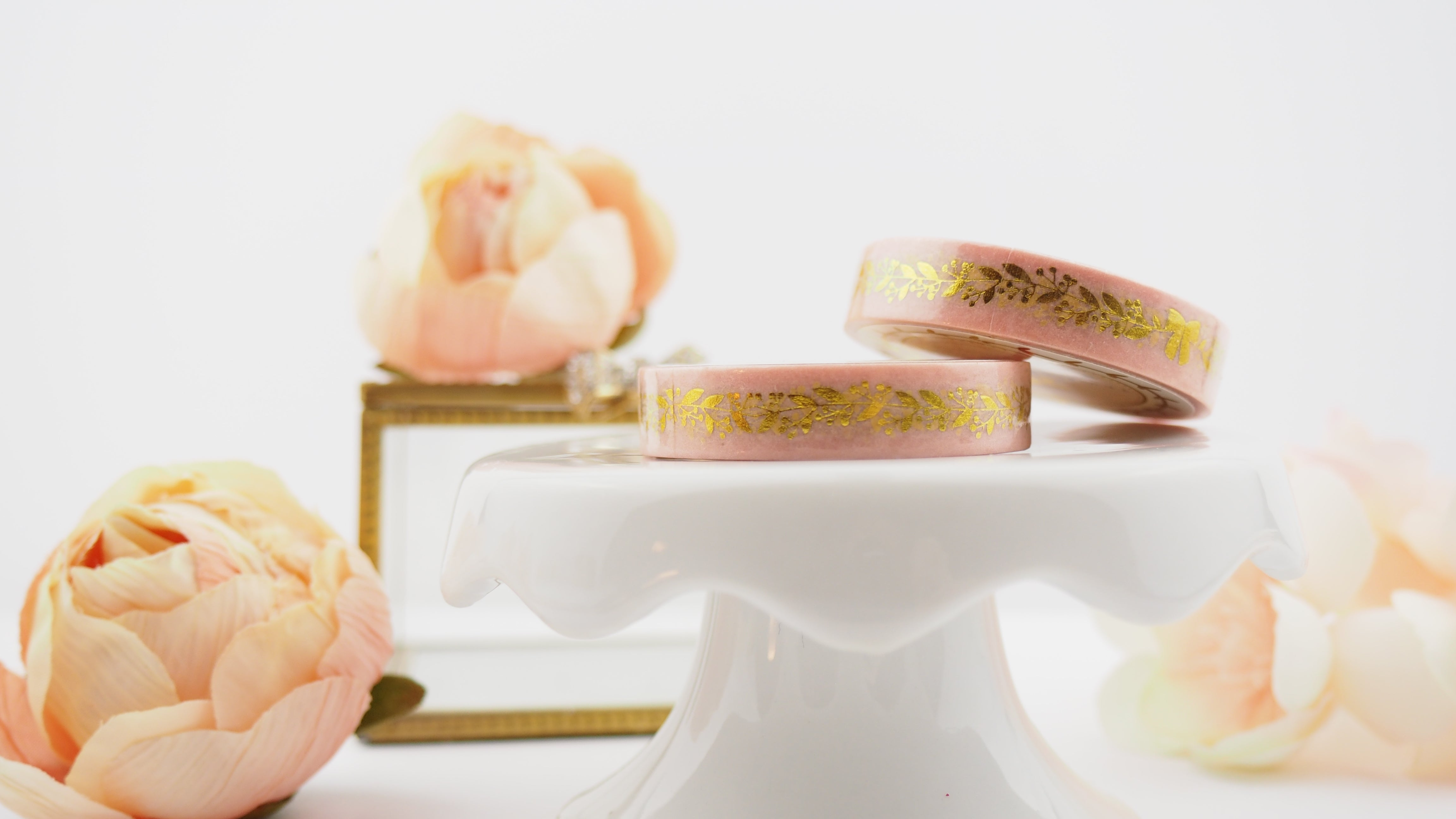 Gold Garland Bow PINK washi - The Pink Room Co Exclusive Original