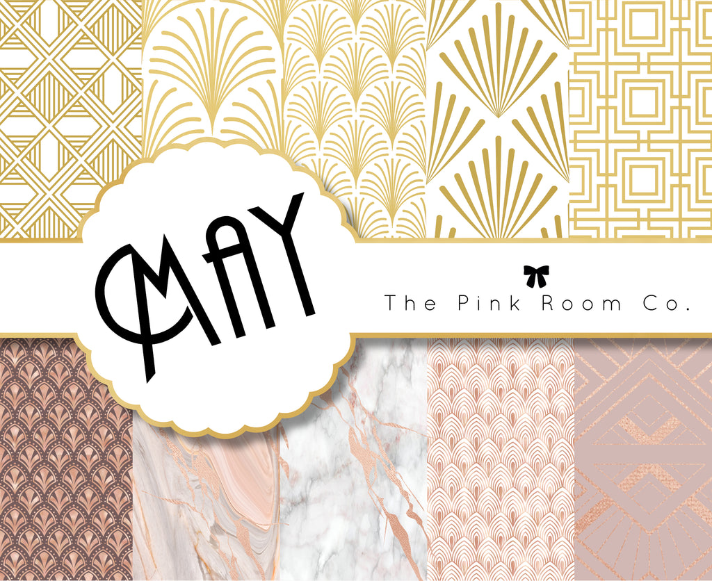MAY - 3 Foiled weekly kits from the MAY 2020 Mystery kit collection