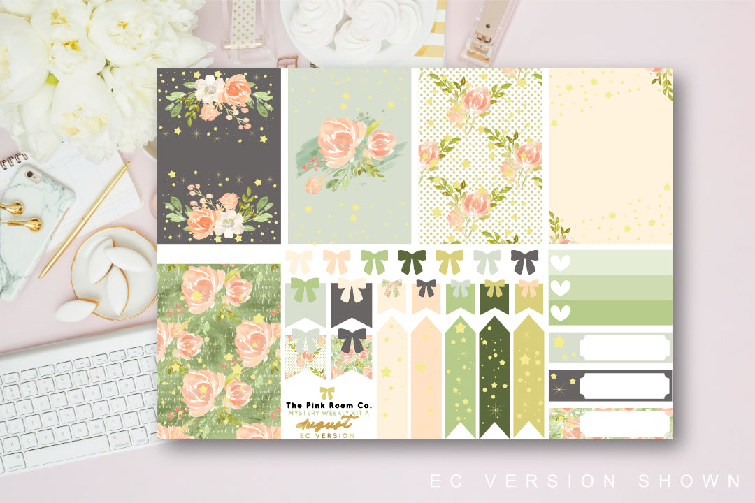 Sweet Summer - Foiled weekly kit from the AUGUST Mystery kit collection