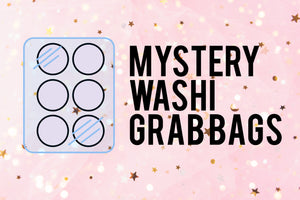 MYSTERY GRAB BAGS - Various Size Washi Tapes