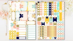 ALL DRESSED UP  - Weekly planner sticker kit