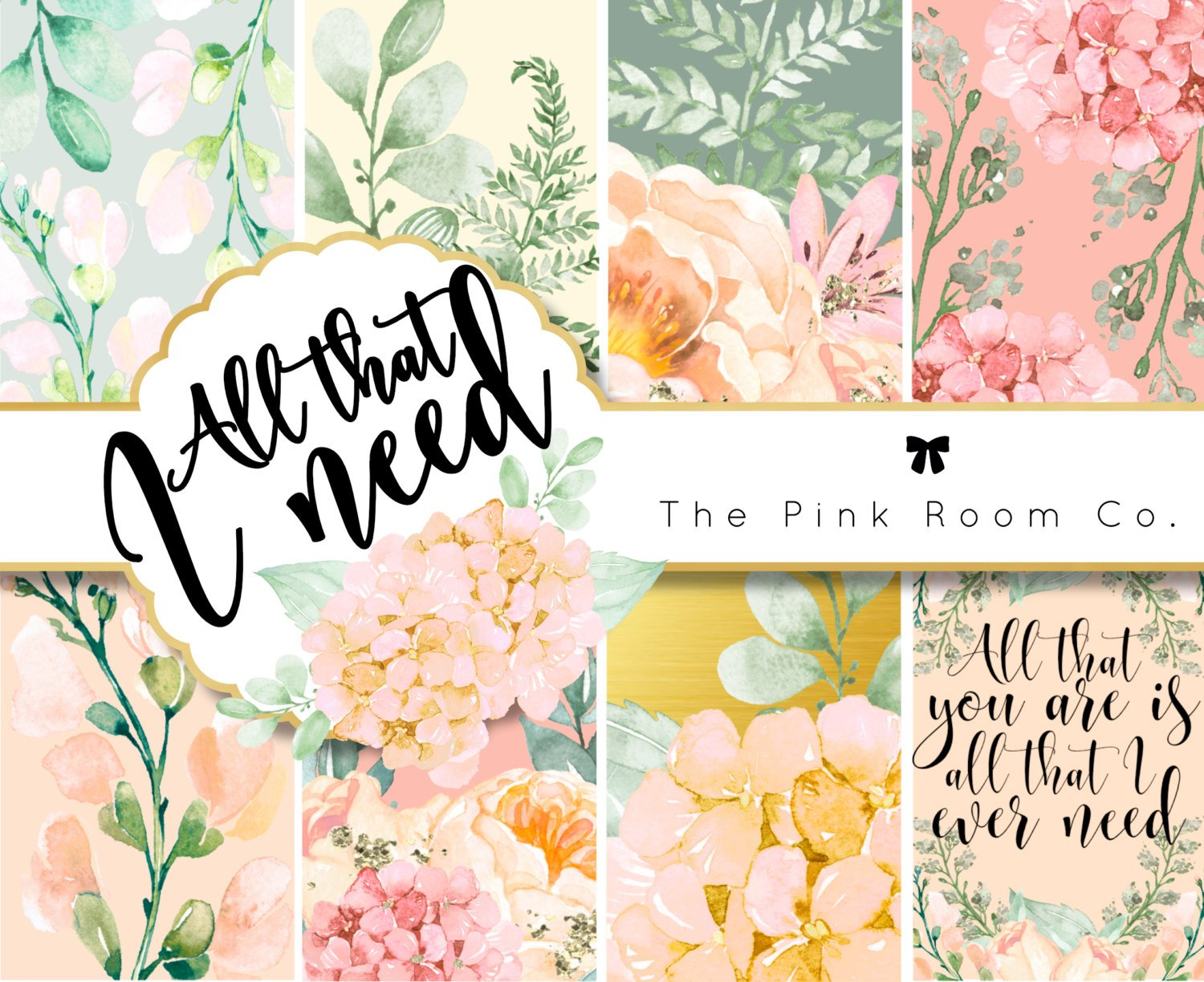 ALL THAT I NEED - Weekly Kit For Happy Planner and Erin Condren Vertical
