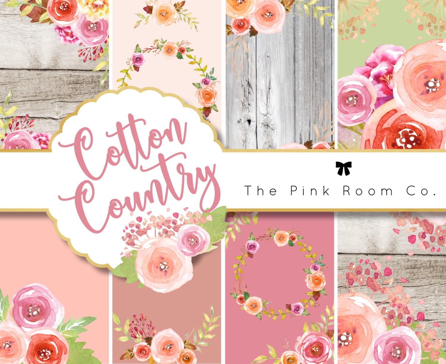 COTTON COUNTRY - Weekly Sticker Kit