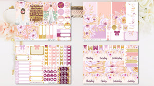 JULIET - Weekly Sticker Kit