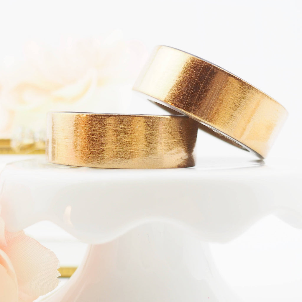 Rose Gold foil Washi Tape from The Pink Room Co.
