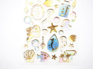 Ocean Wonders Sticker collection  -  from ThePinkRoomCo