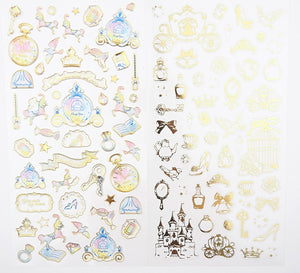 Elements of Cinderella Sticker collection  -  from ThePinkRoomCo