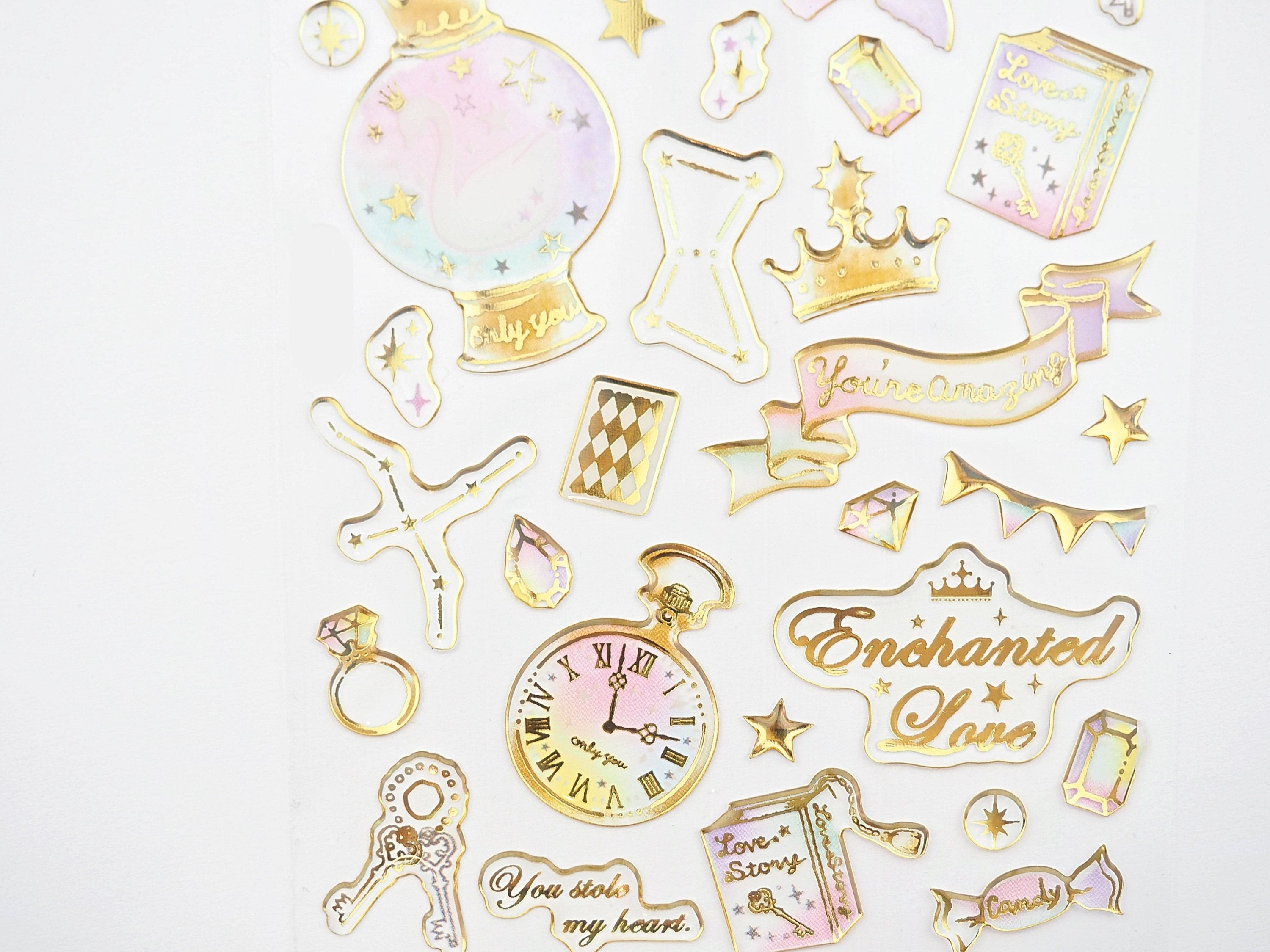 Enchanted Sticker collection  -  from ThePinkRoomCo