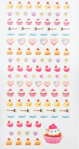 Let Them Eat Cake Sticker collection  -  from ThePinkRoomCo