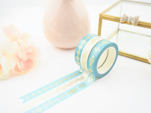 CHARMING in Teal Washi Tape Collection  - The Pink Room Co Original