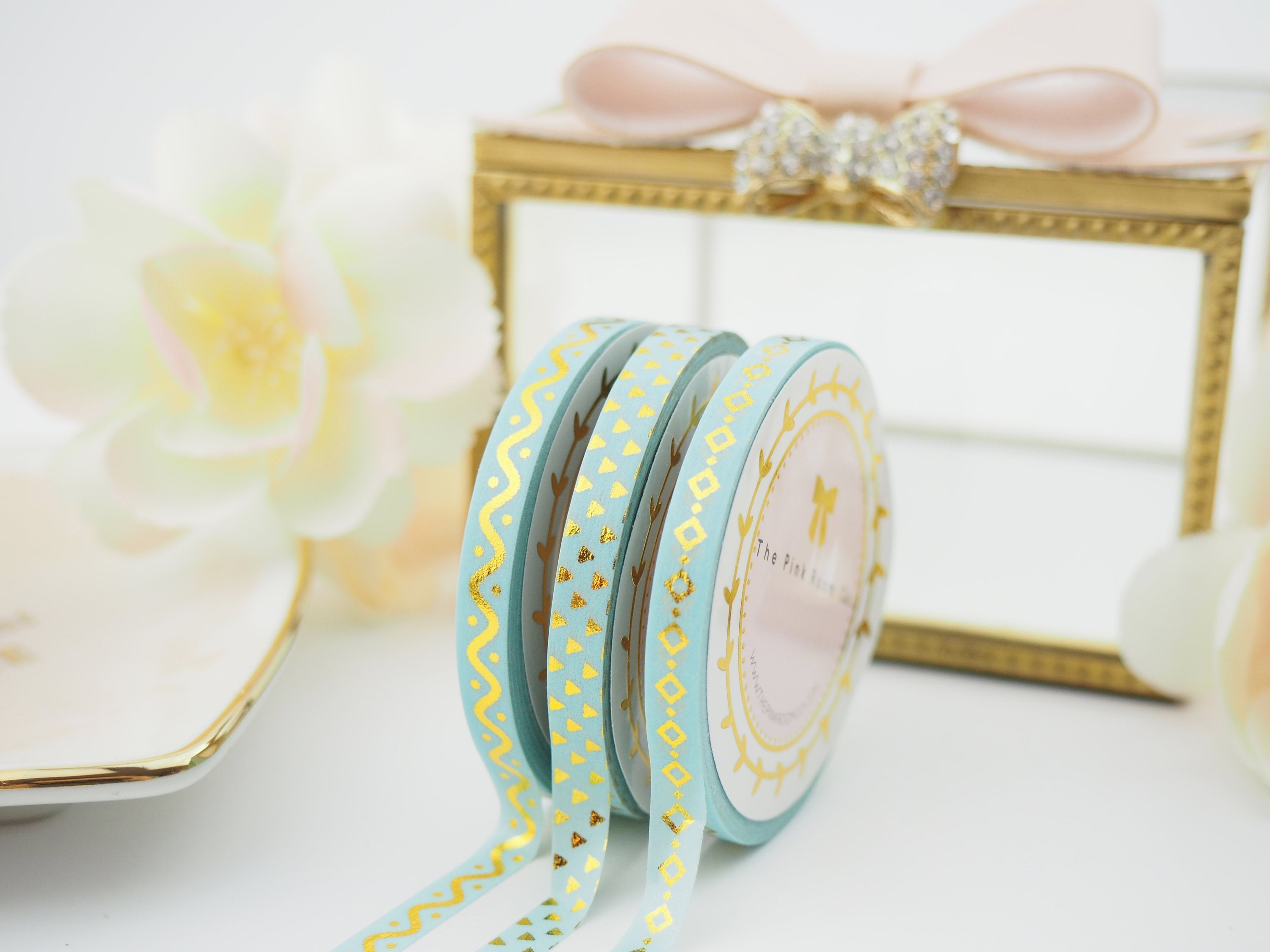 Arizona Gold Washi Tape Collection  -  from ThePinkRoomCo
