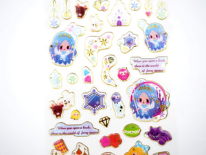Alice and The Snow Queen sticker collection  -  from ThePinkRoomCo