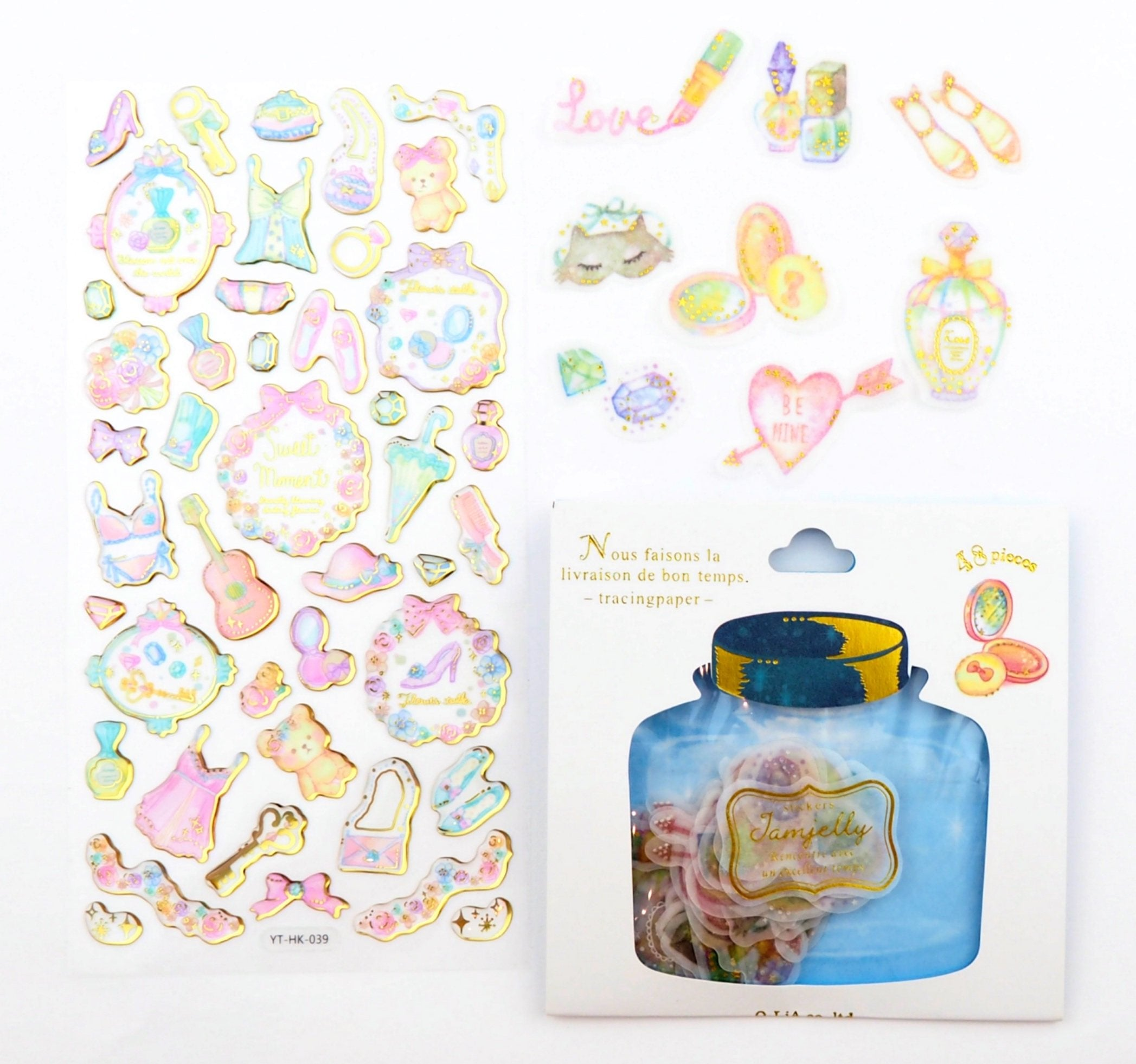 All Dolled Up sticker collection  -  from ThePinkRoomCo