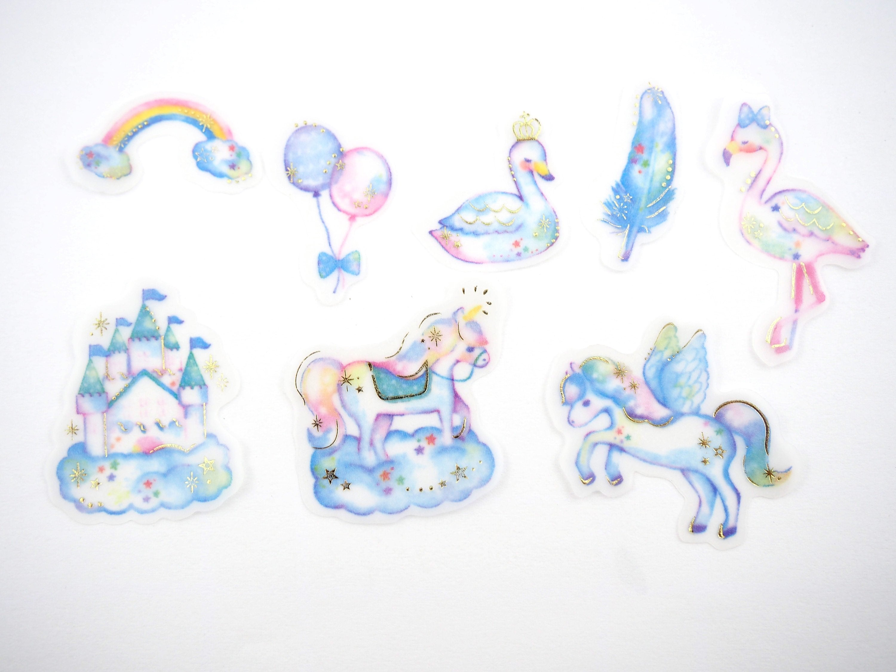 Magical Stories sticker collection  -  from ThePinkRoomCo