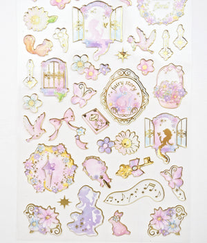 Cinderella & Rapunzel Sticker collection  -  from ThePinkRoomCo