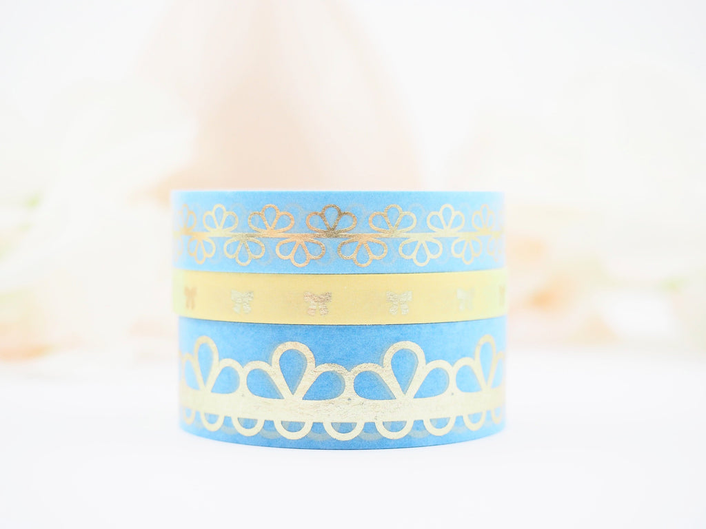 Lace of Venus in BLUE Washi Collection - The Pink Room Co Exclusive Original
